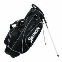 Srixon Stand Bag Black and White