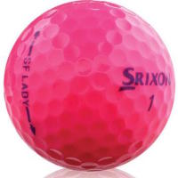 Srixon SoftFeel Lady Passion Pink Golf Balls