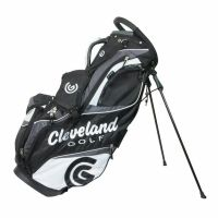 Cleveland CG Stand Bag Black Grey and White