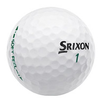 Srixon SoftFeel Golf Balls Pure White