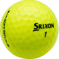 Srixon SoftFeel Golf Ball Tour Yellow
